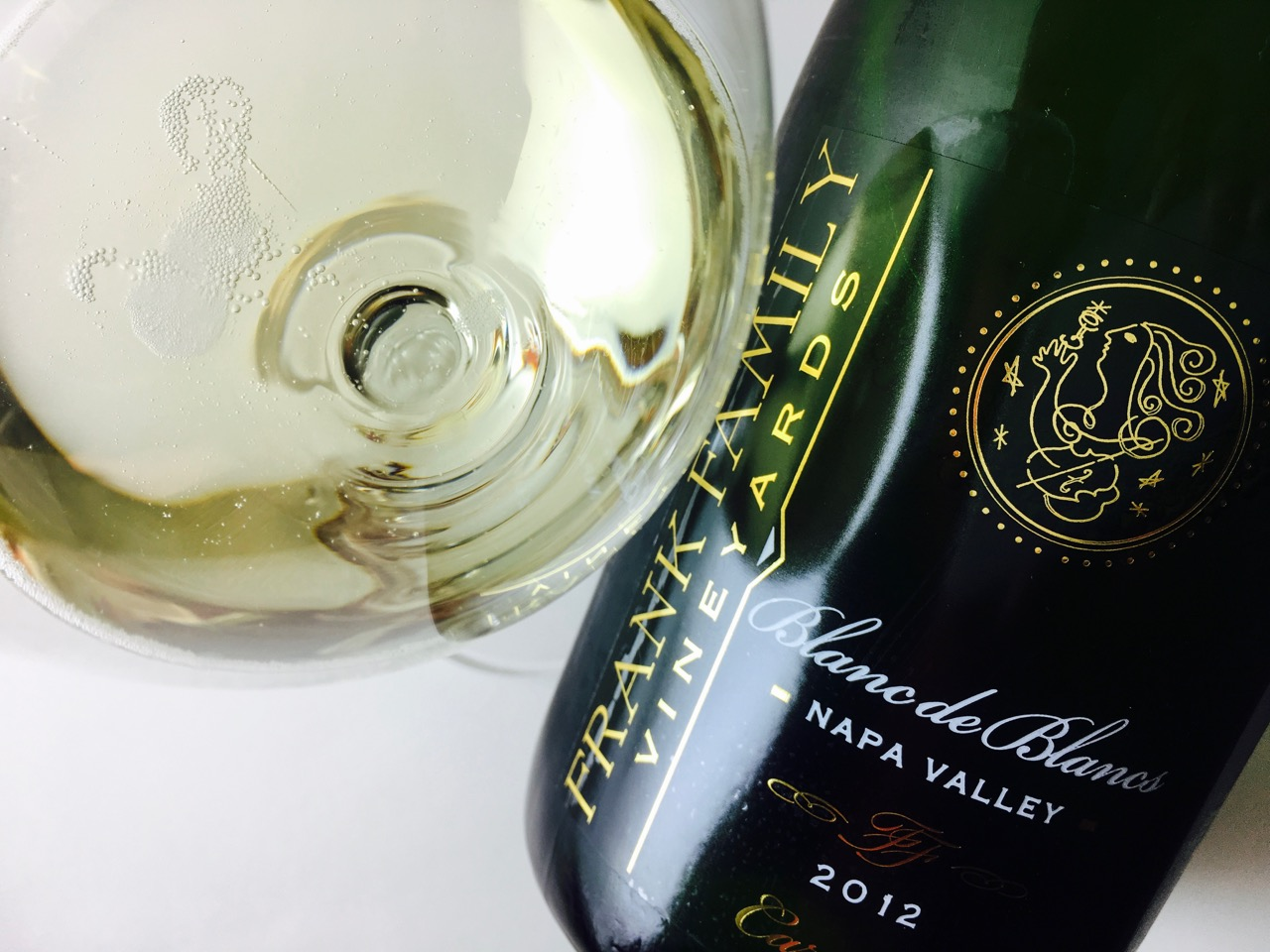 2012 Frank Family Vineyards Blanc de Blancs Carneros