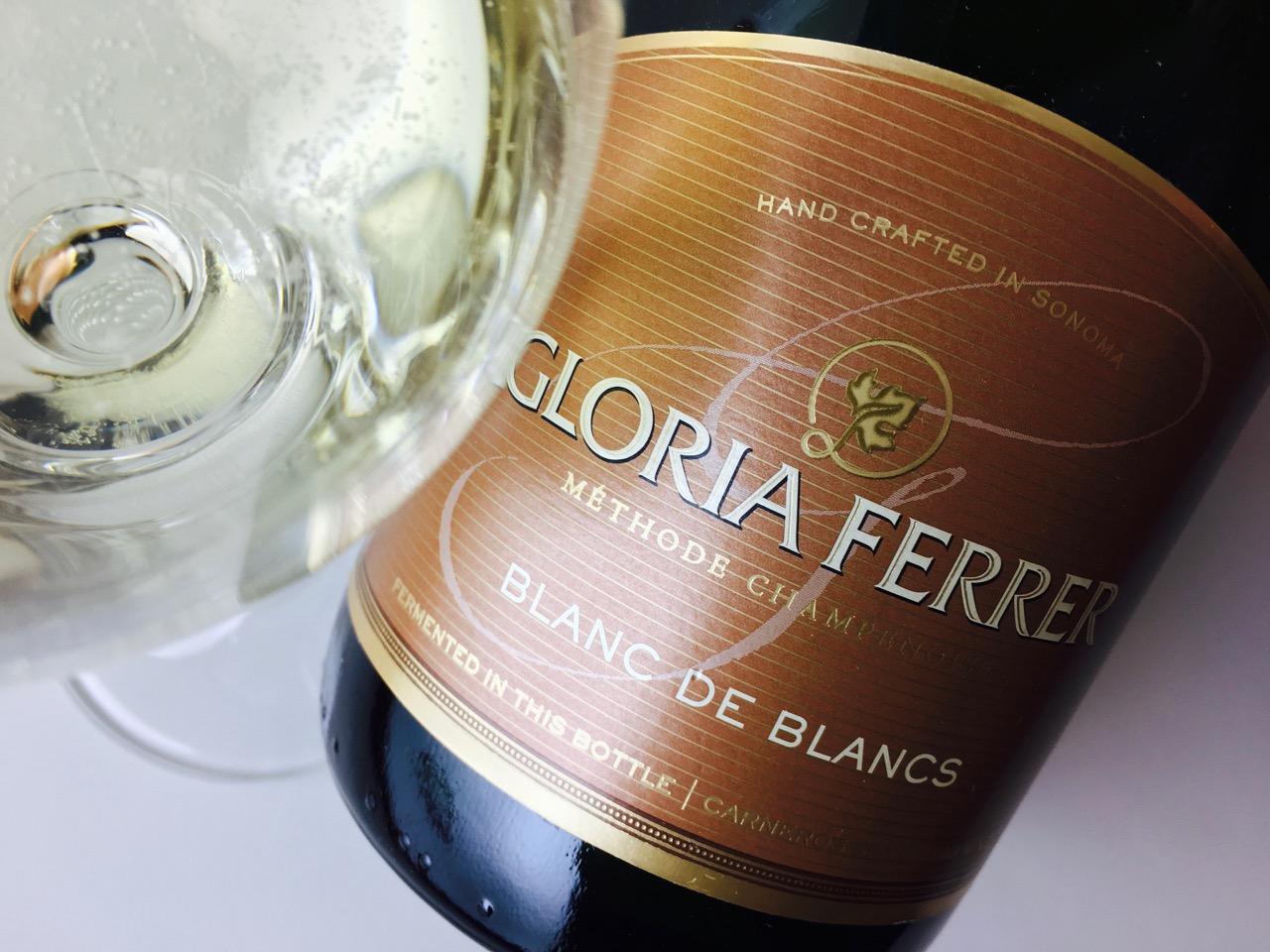NV Gloria Ferrer Blanc de Blancs Carneros