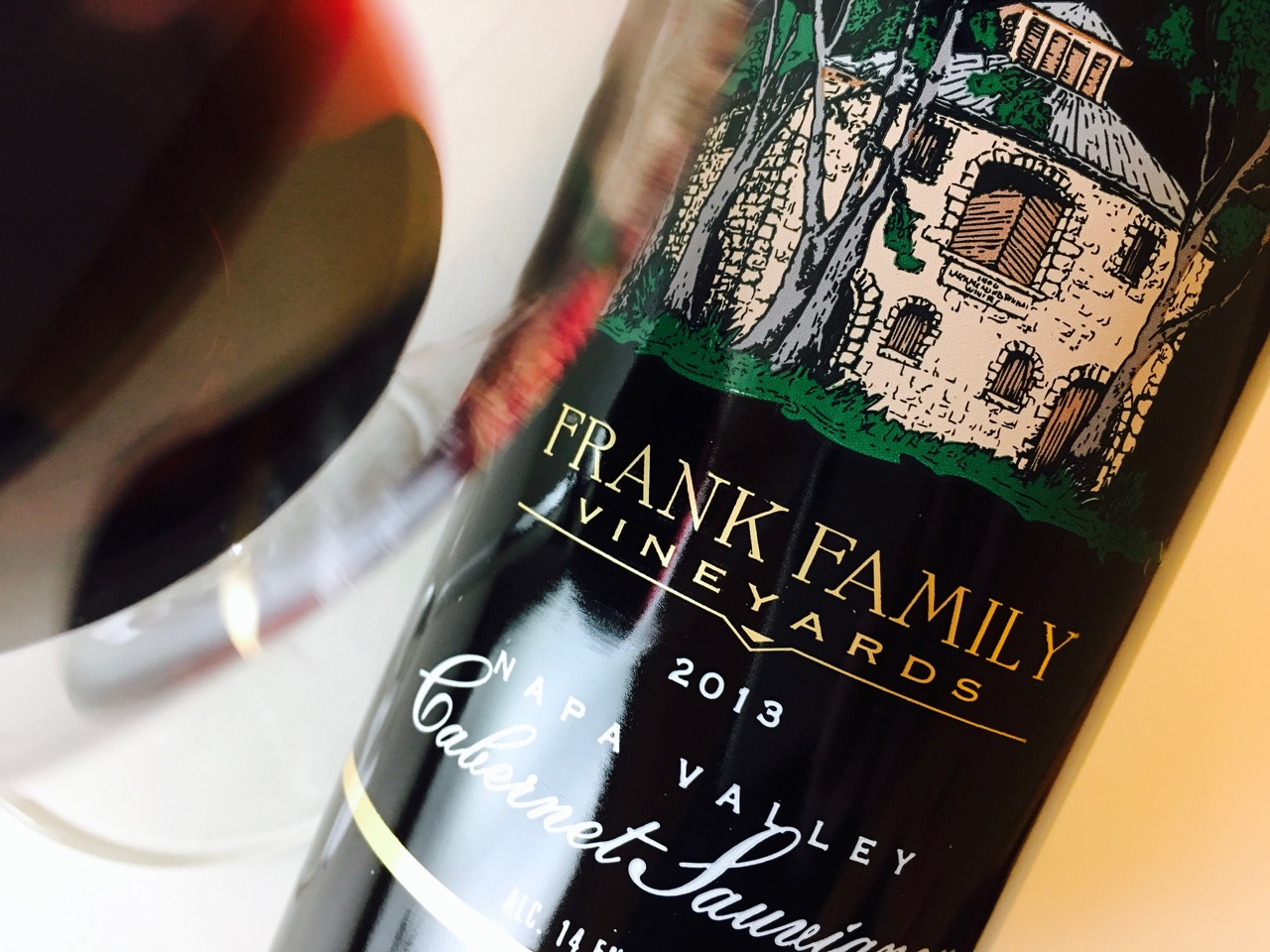 2013 Frank Family Vineyards Cabernet Sauvignon Napa Valley