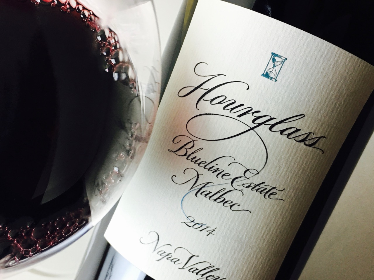2014 Hourglass Malbec Blueline Estate Napa Valley