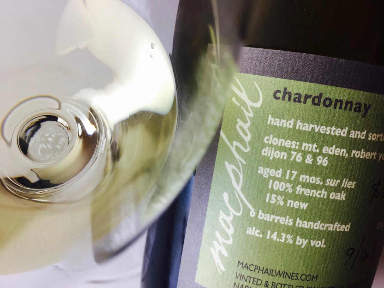 2014 Macphail Family Wines Chardonnay Vagon Blanc Sonoma Coast