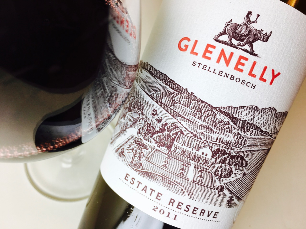 2011 Glenelly Red Blend Estate Reserve Stellenbosch