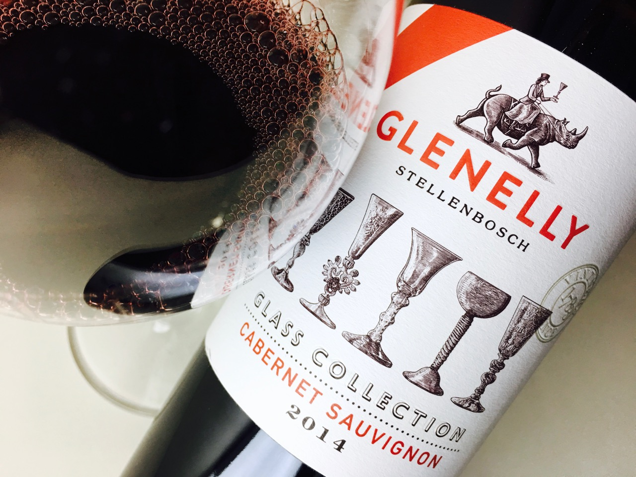 2014 Glenelly Cabernet Sauvignon Glass Collection Stellenbosch