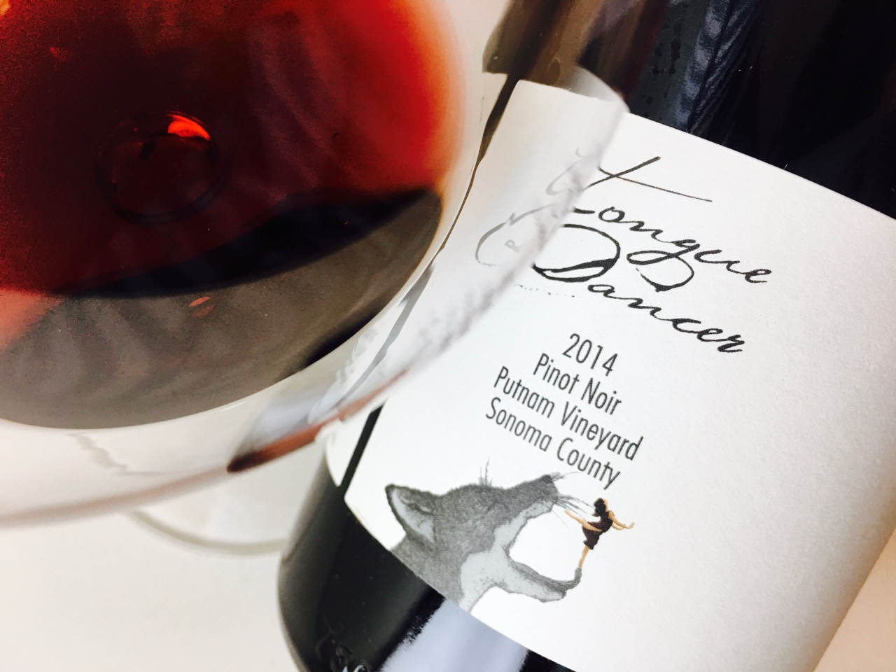2014 Tongue Dancer Pinot de Ville Pinot Noir Putnam Vineyard Sonoma County