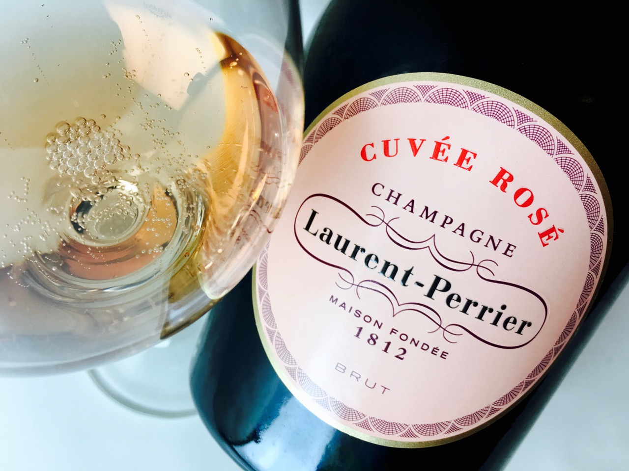NV Laurent-Perrier Cuvée Rosé Brut Champagne