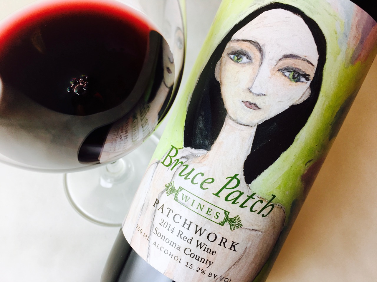 2014 Bruce Patch Wines Red Blend Patchwork Sonoma County