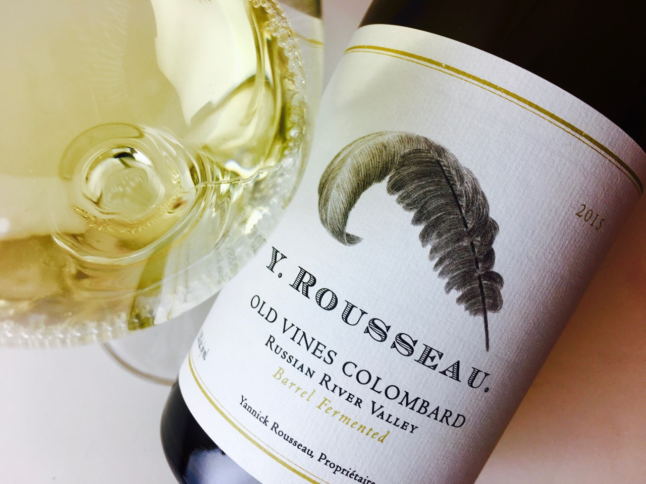 2015 Y. Rousseau Old Vines Colombard Russian River Valley, Sonoma County