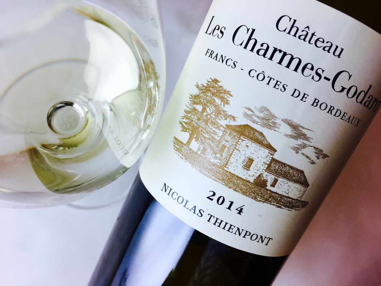 2014 Château Les Charmes-Godard Blanc Francs Côtes de Bordeaux
