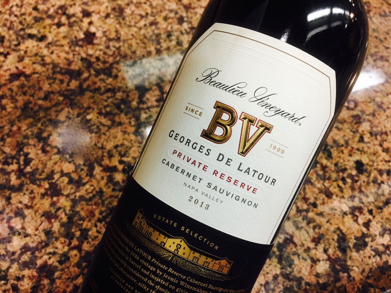 2013 Beaulieu Vineyard Cabernet Sauvignon Georges de Latour Private Reserve Napa Valley