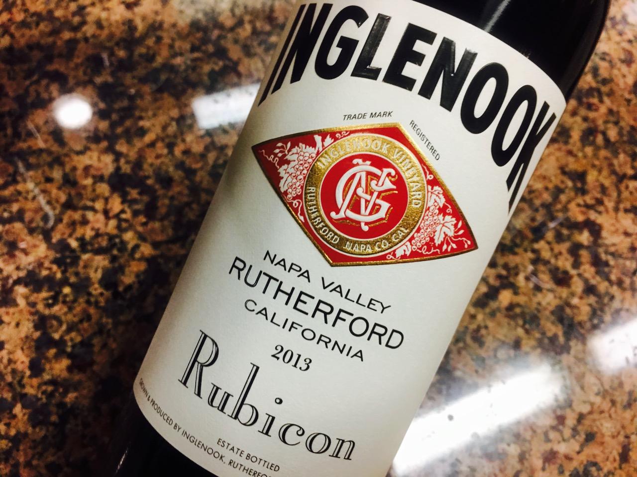 2013 Inglenook Rubicon Cabernet Sauvignon Rutherford Napa Valley