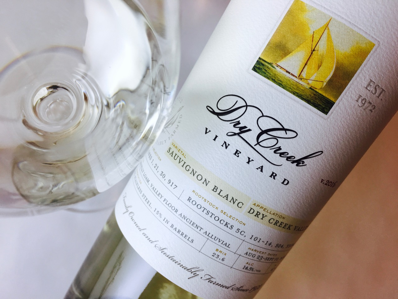2016 Dry Creek Vineyard Sauvignon Blanc Dry Creek Valley