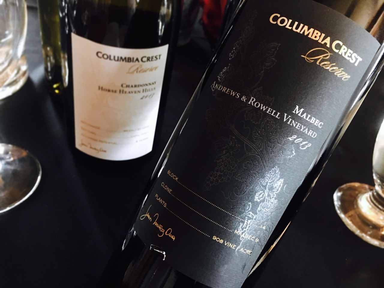 2013 Columbia Crest Reserve Malbec Andrews & Rowell Vineyard Columbia Valley