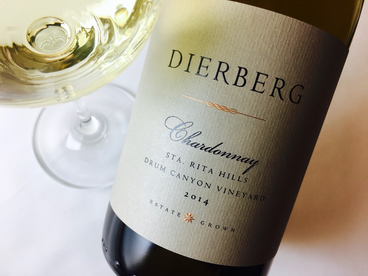 2014 Dierberg Chardonnay Drum Canyon Vineyard Sta. Rita Hills