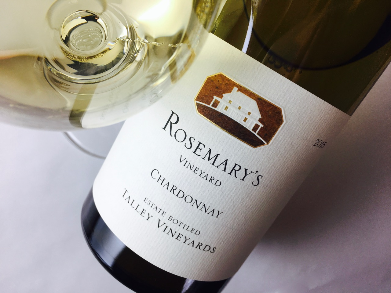 2015 Talley Vineyards Chardonnay Rosemary's Vineyard Arroyo Grande Valley