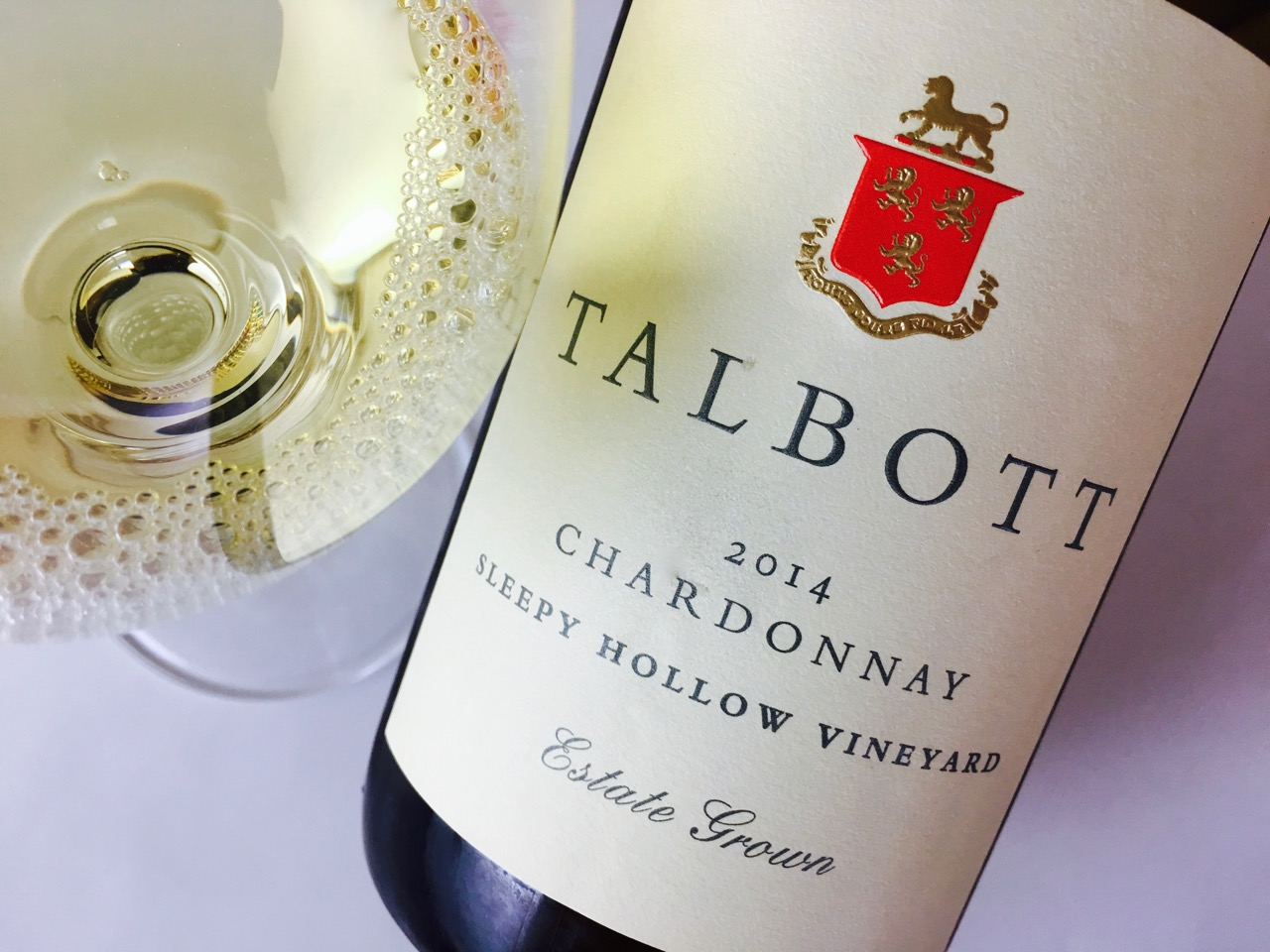 2014 Talbott Chardonnay Sleepy Hollow Vineyard Santa Lucia Highlands