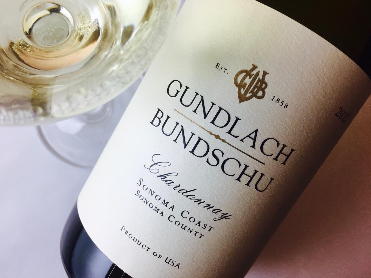 2015 Gundlach Bundschu Chardonnay Sonoma Coast