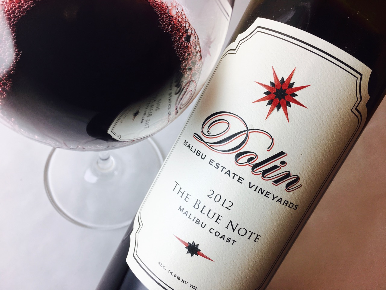2012 Dolin Red Blend The Blue Note Malibu Coast