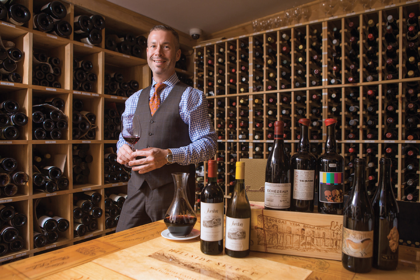 Dan Davis, wine director at Commander's Palace (Credit: Chris Granger)