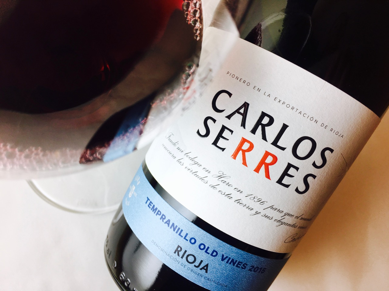 2015 Carlos Serres Old Vines Rioja