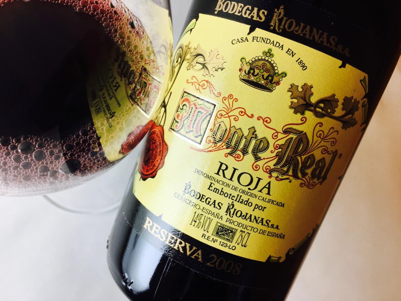 2008 Bodegas Riojanas Monte Real Rioja Reserva