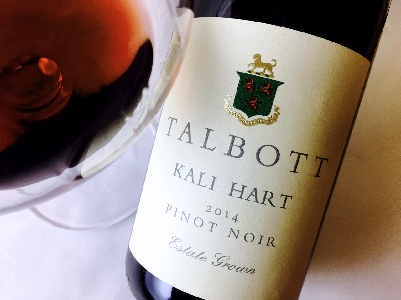 2014 Talbott Pinot Noir Kali Hart Monterey
