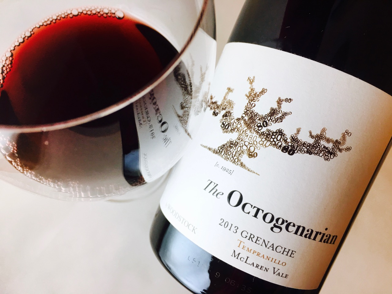 2013 Woodstock The Octogenarian Grenache Tempranillo McLaren Vale
