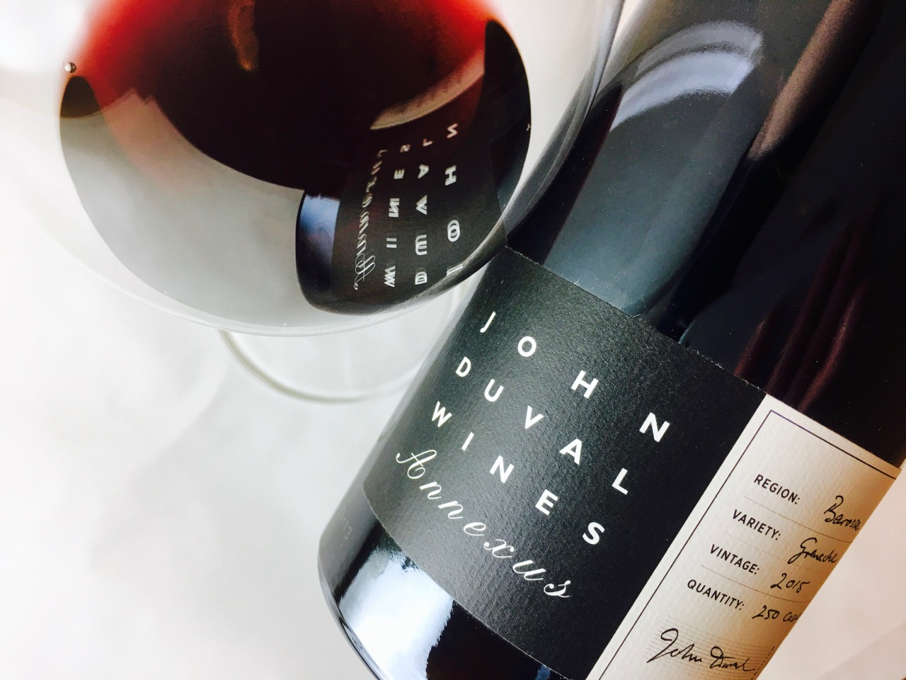 2015 John Duval Wines Grenache Annexus Barossa South Australia
