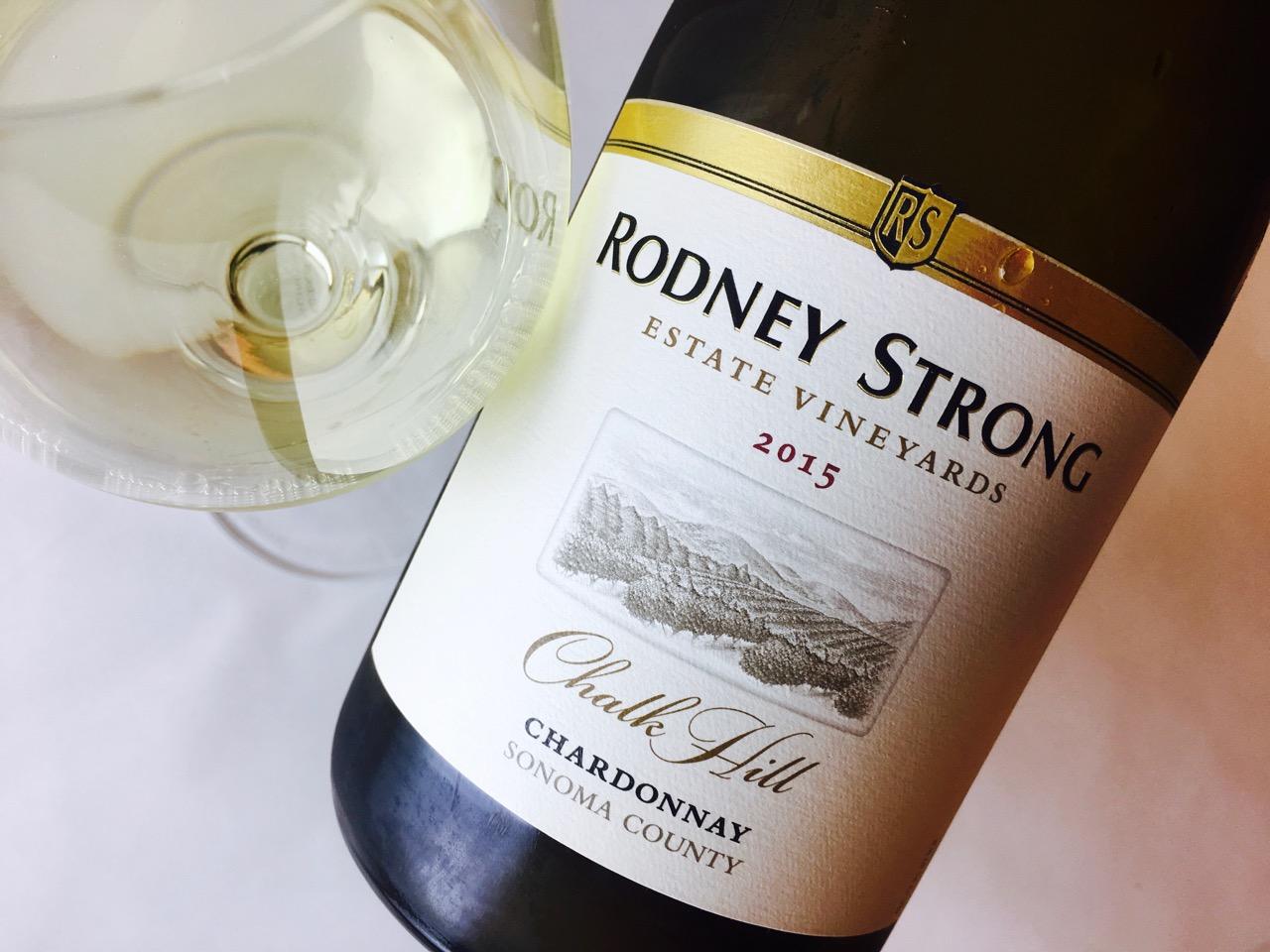 2015 Rodney Strong Chardonnay Chalk Hill