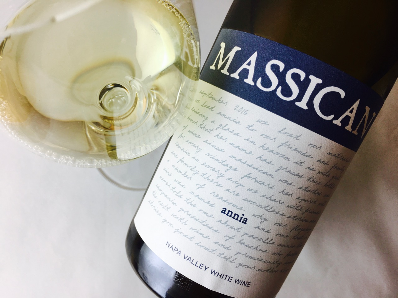 2016 Massican White Wine Annia Napa Valley