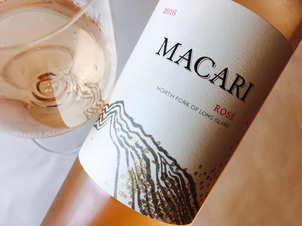 2016 Macari Vineyards Rosé North Fork of Long Island