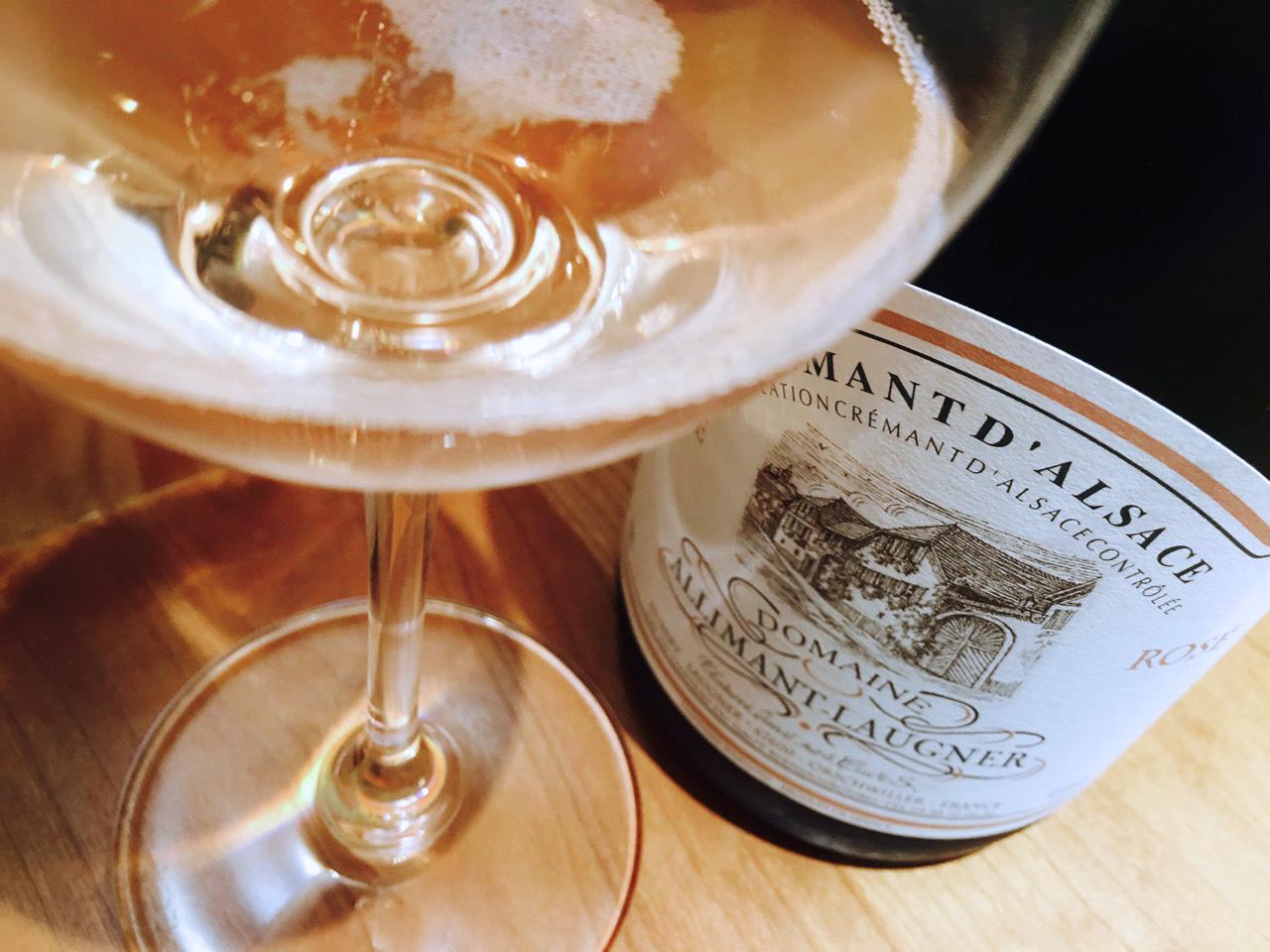 NV Domaine Allimant-Laugner Brut Rosé Crémant d'Alsace