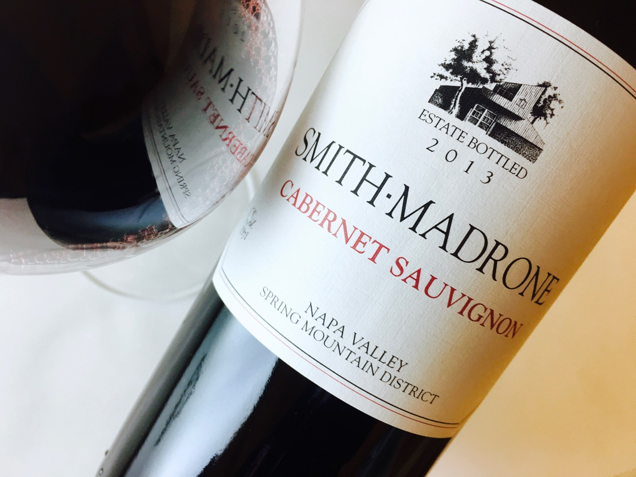 2013 Smith-Madrone Cabernet Sauvignon Spring Mountain District Napa Valley