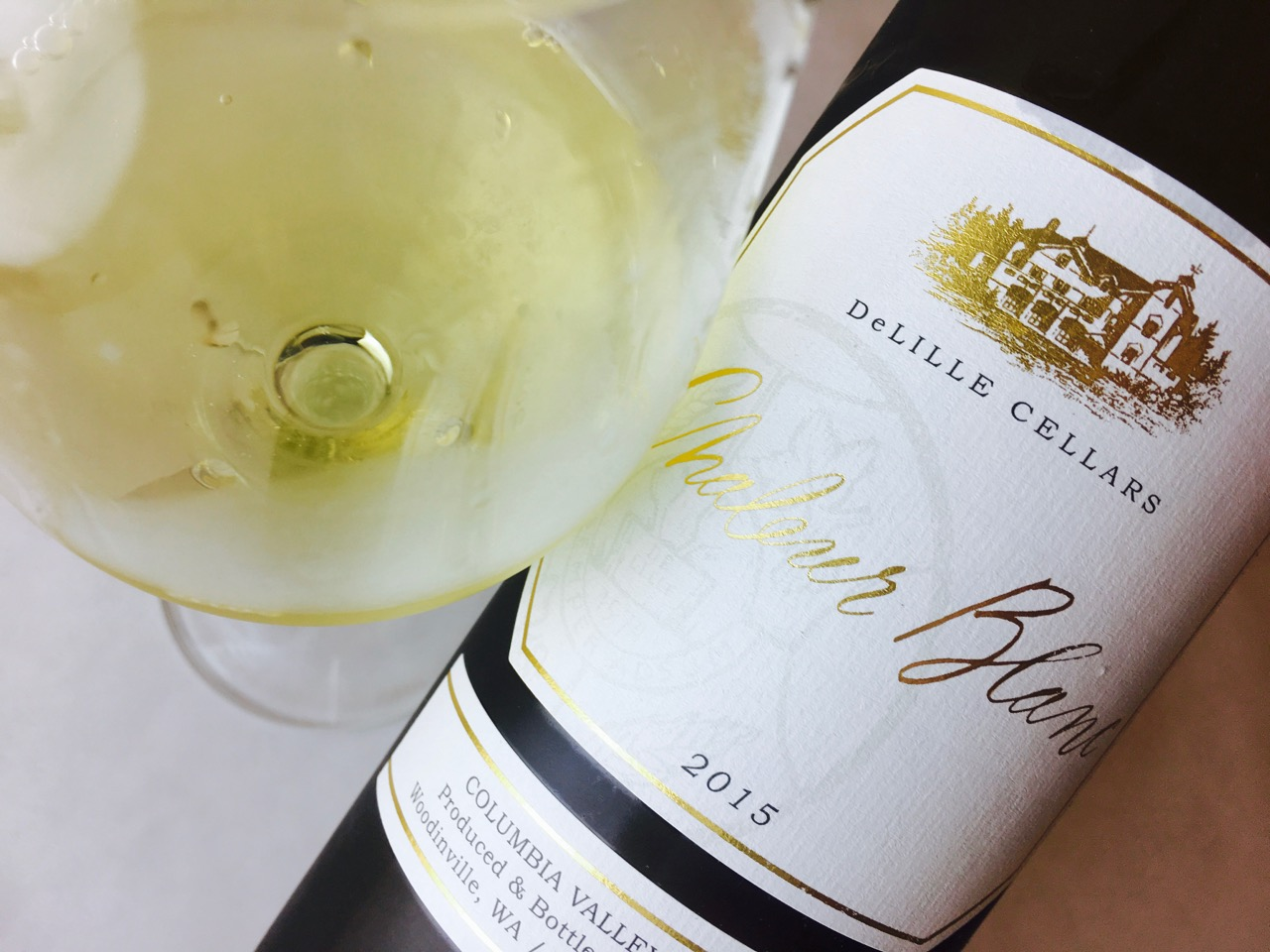 2015 DeLille Cellars White Blend Chaleur Blanc Columbia Valley
