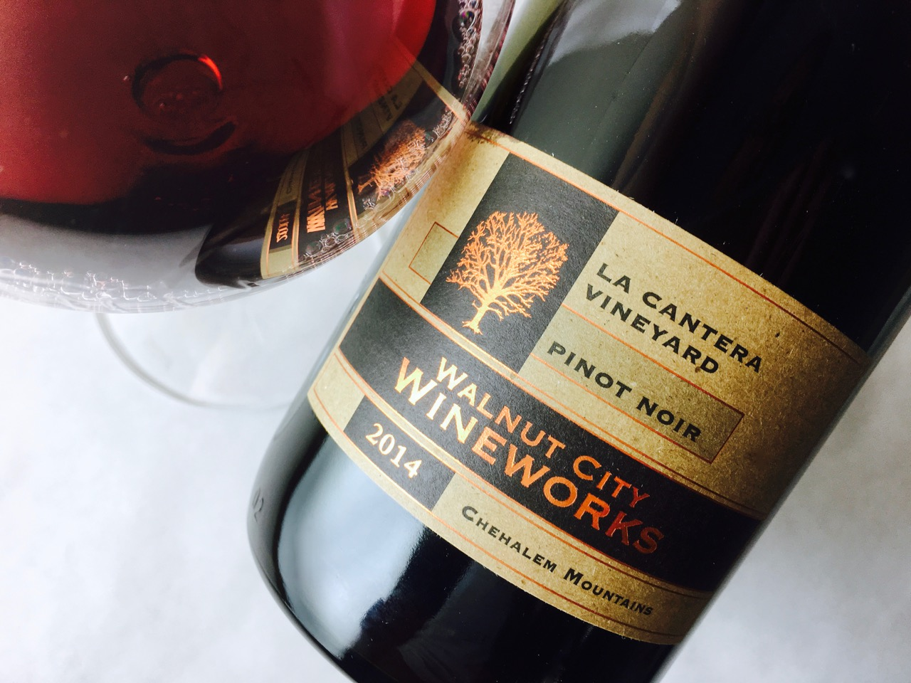 2014 Walnut City Pinot Noir La Cantera Vineyard Chehalem Mountains
