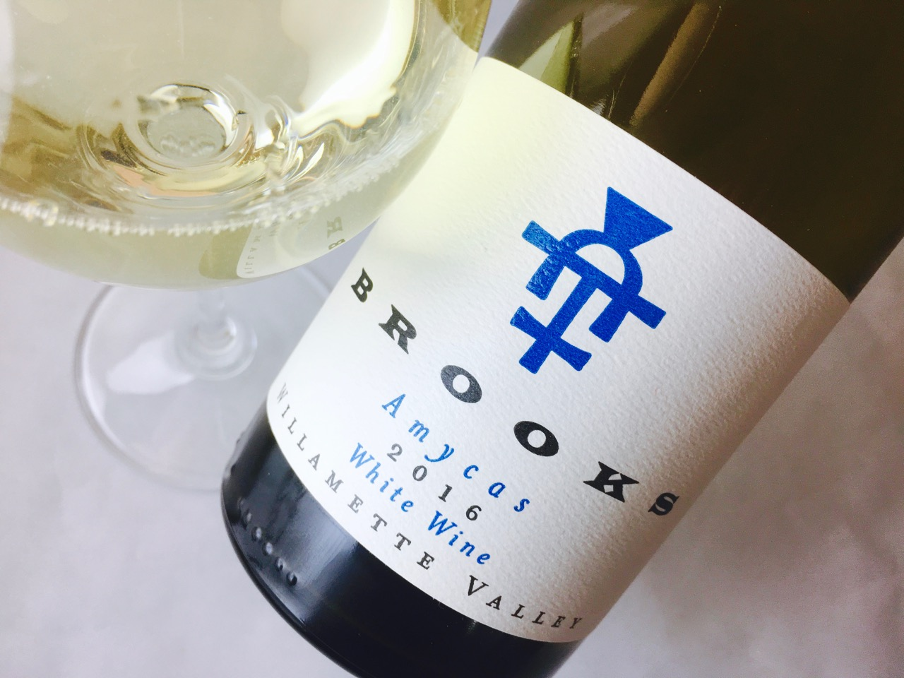 2016 Brooks Winery White Blend Amycas Willamette Valley
