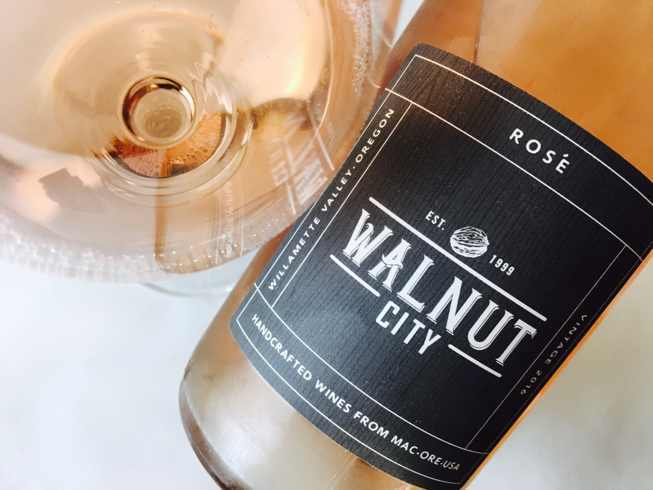 2016 Walnut City Pinot Noir Rosé Willamette Valley