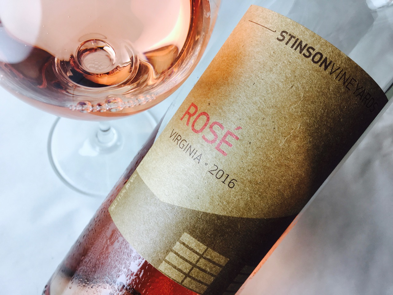 2016 Stinson Vineyards Rosé Virginia