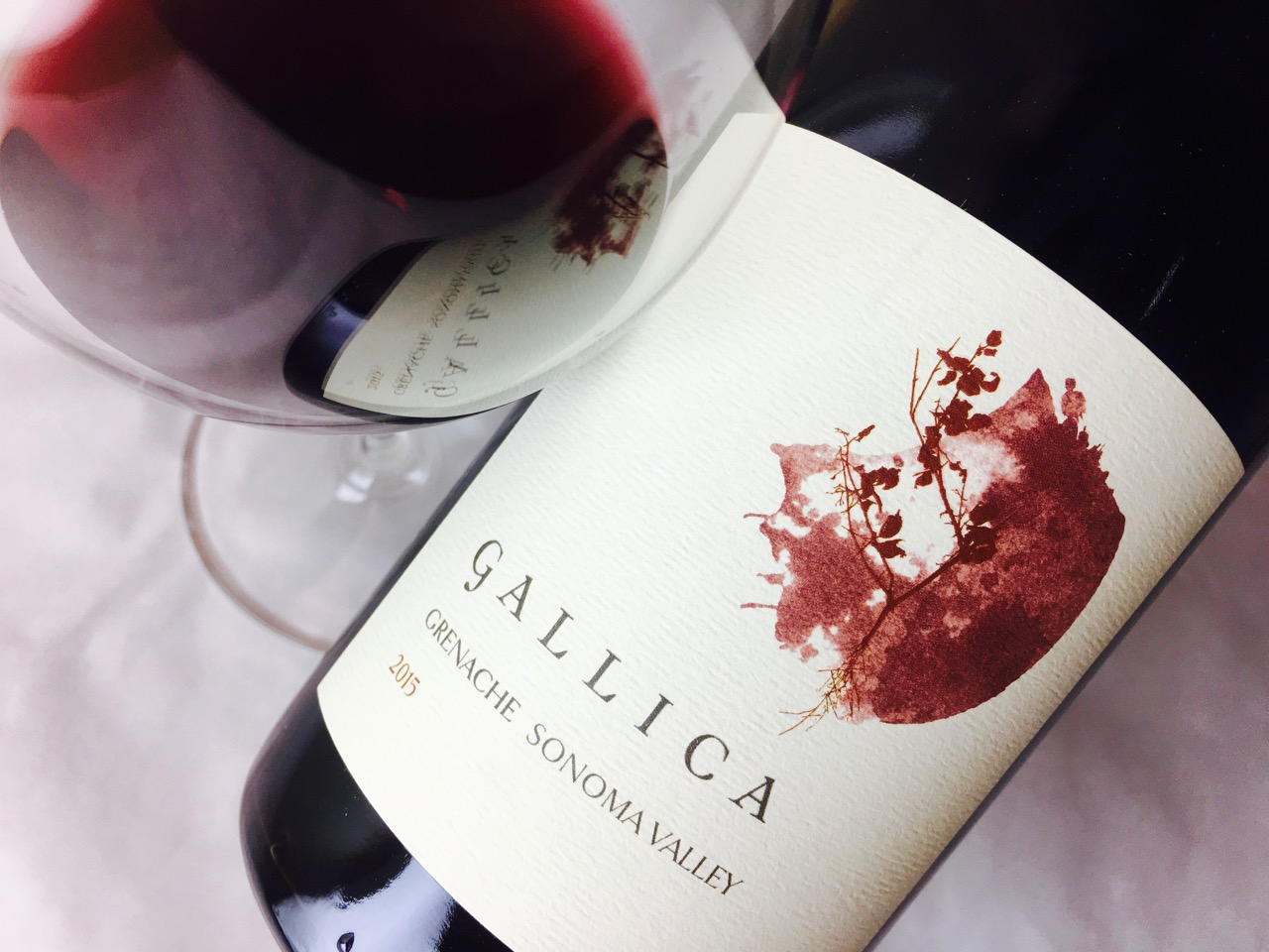 2015 Gallica Grenache Steel Plow Vineyard Sonoma Valley
