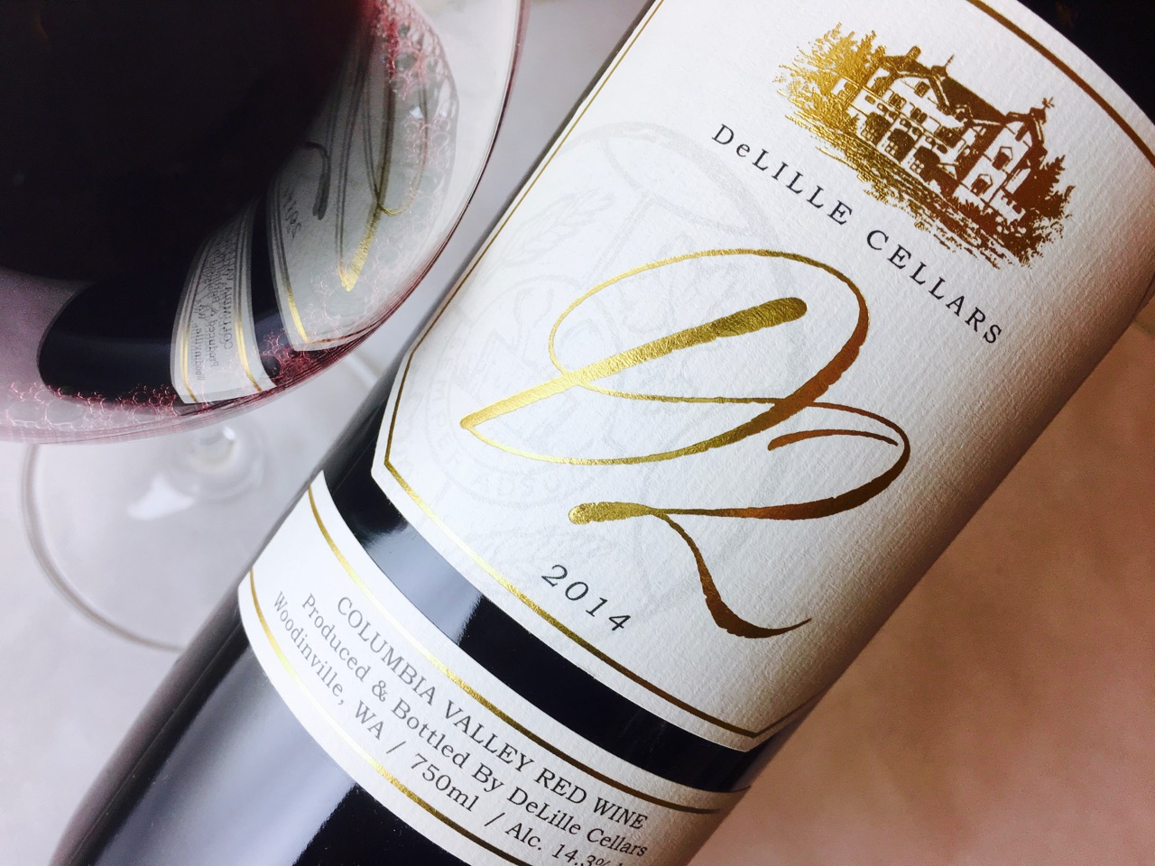 2014 DeLille Cellars Red Blend D2 Columbia Valley