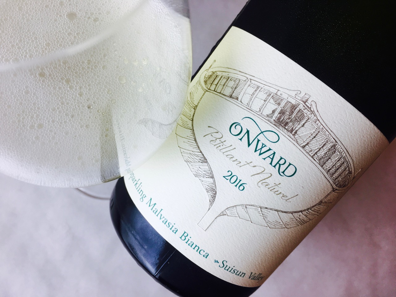 2016 Onward Malvasia Pétillant Naturel Capp Inn Ranch Suisun Valley
