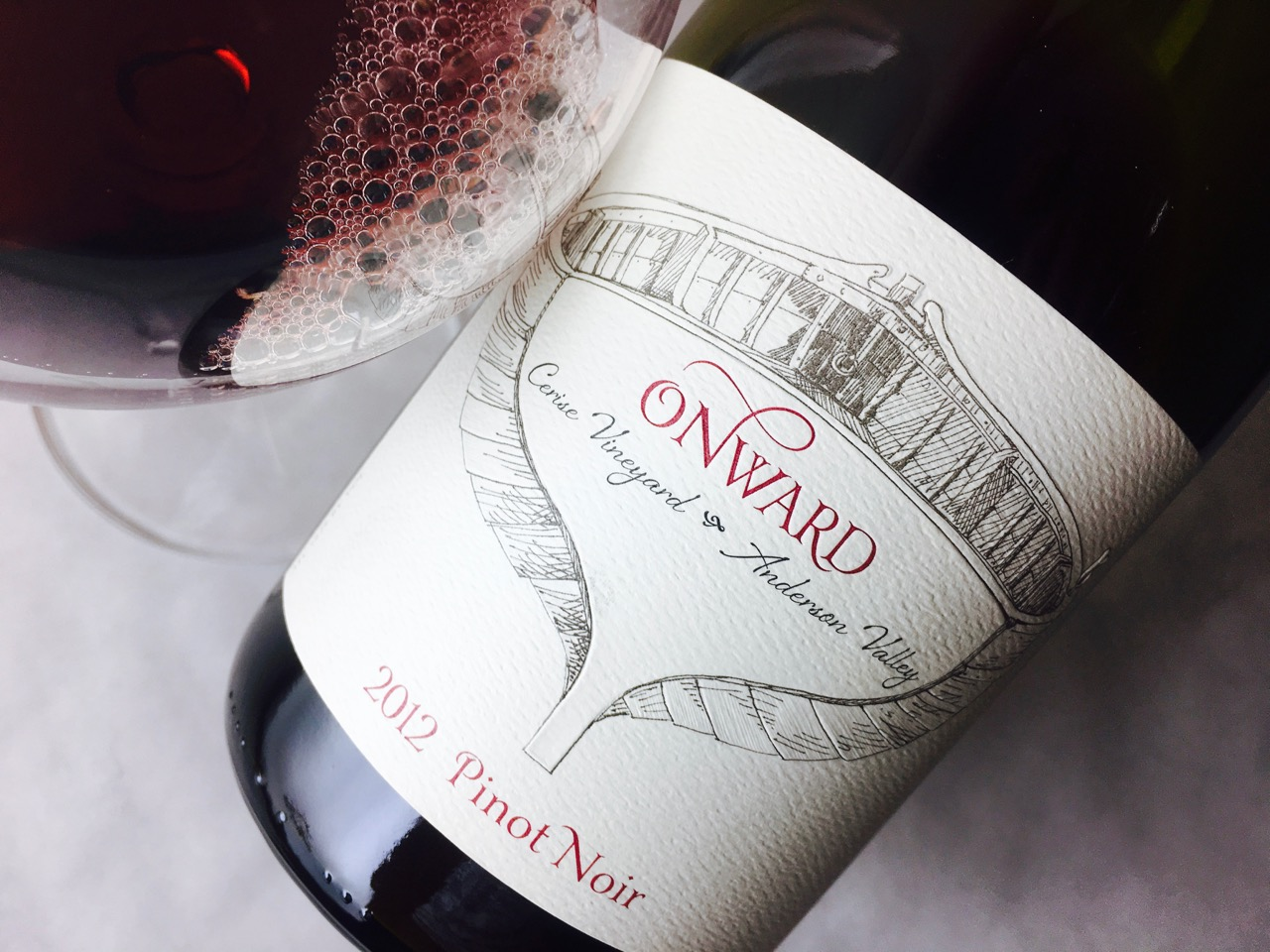 2012 Onward Pinot Noir Cerise Vineyard Anderson Valley