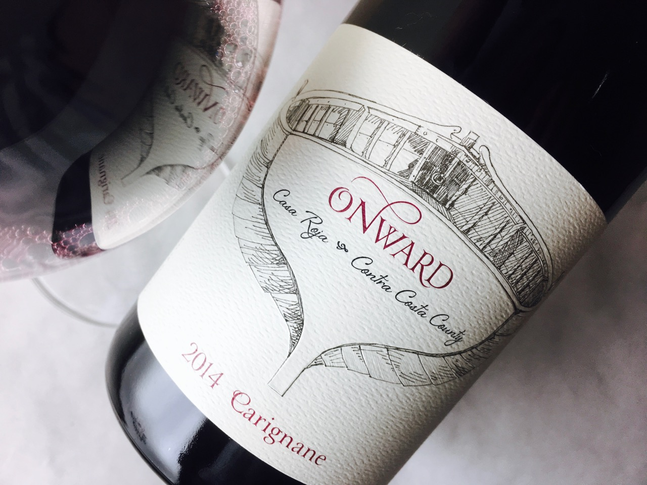 2014 Onward Carignane Casa Roja Vineyard Contra Costa County
