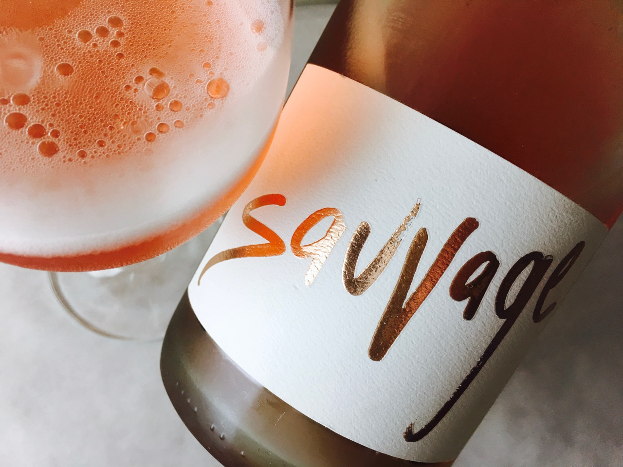 NV Gruet Sauvage Rosé Méthode Traditionelle America