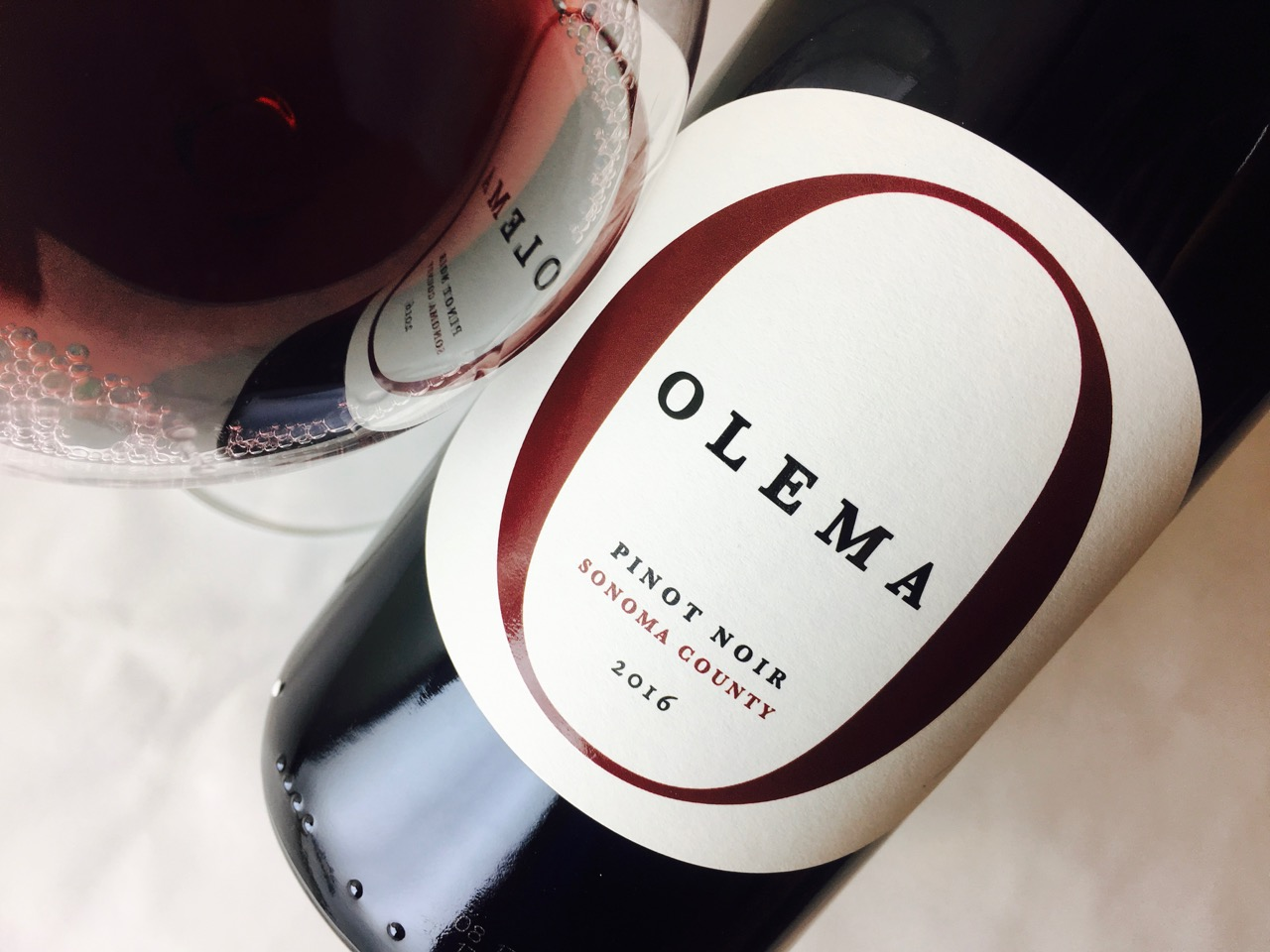 2016 Olema Pinot Noir Sonoma County