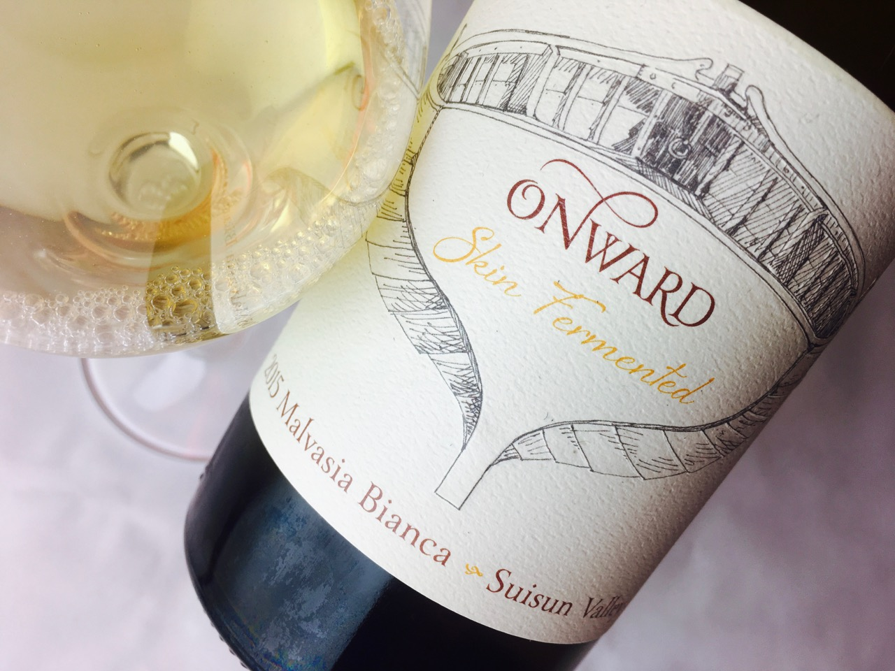 2015 Onward Skin Fermented Malvasia Suisun Valley