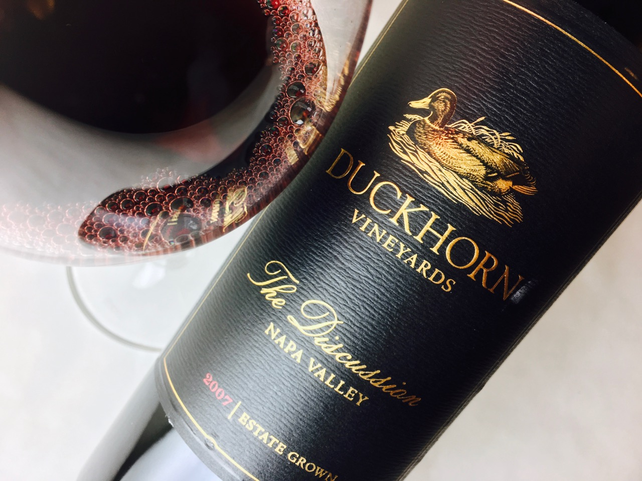 2007 Duckhorn Vineyards The Discussion Red Blend Napa Valley