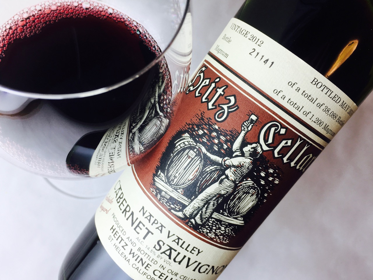 2012 Heitz Cellar Cabernet Sauvignon Trailside Vineyard Napa Valley