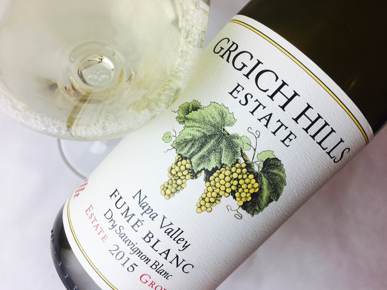 2015 Grgich Hills Estate Fumé Blanc Napa Valley