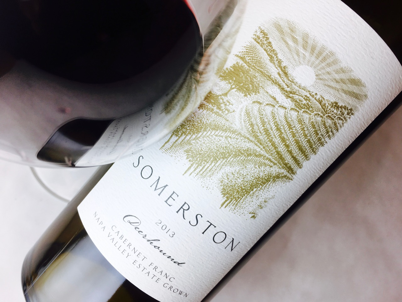 2013 Somerston Cabernet Franc Deerhound Napa Valley