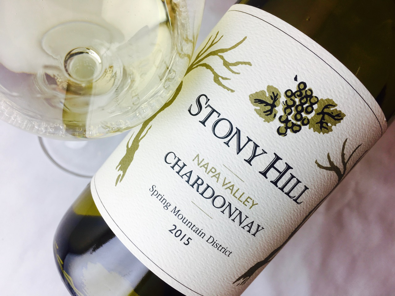2015 Stony Hill Chardonnay Spring Mountain Napa Valley